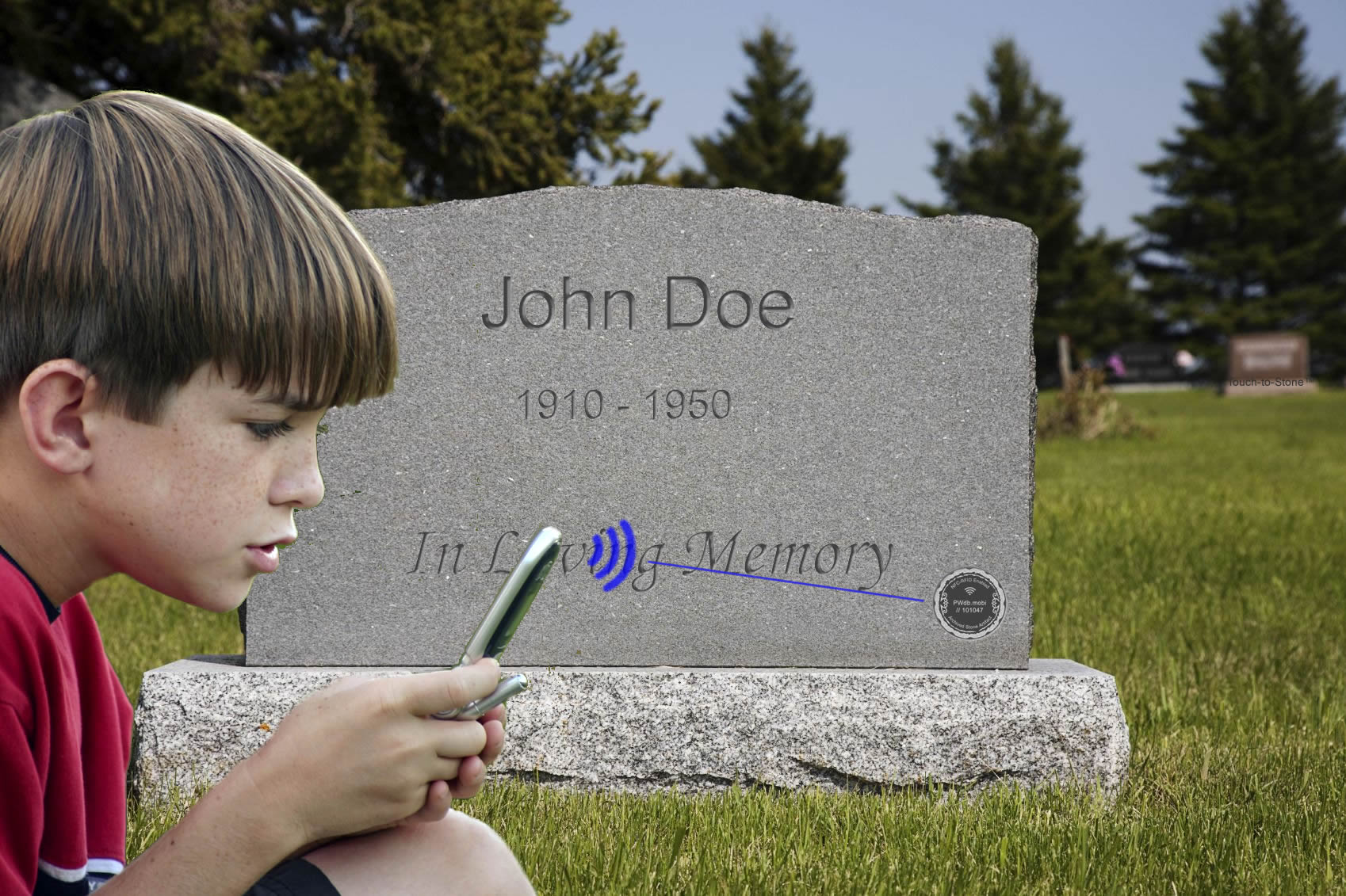 Funeral Technology | Gravestone Technology | Headstone Chips ...